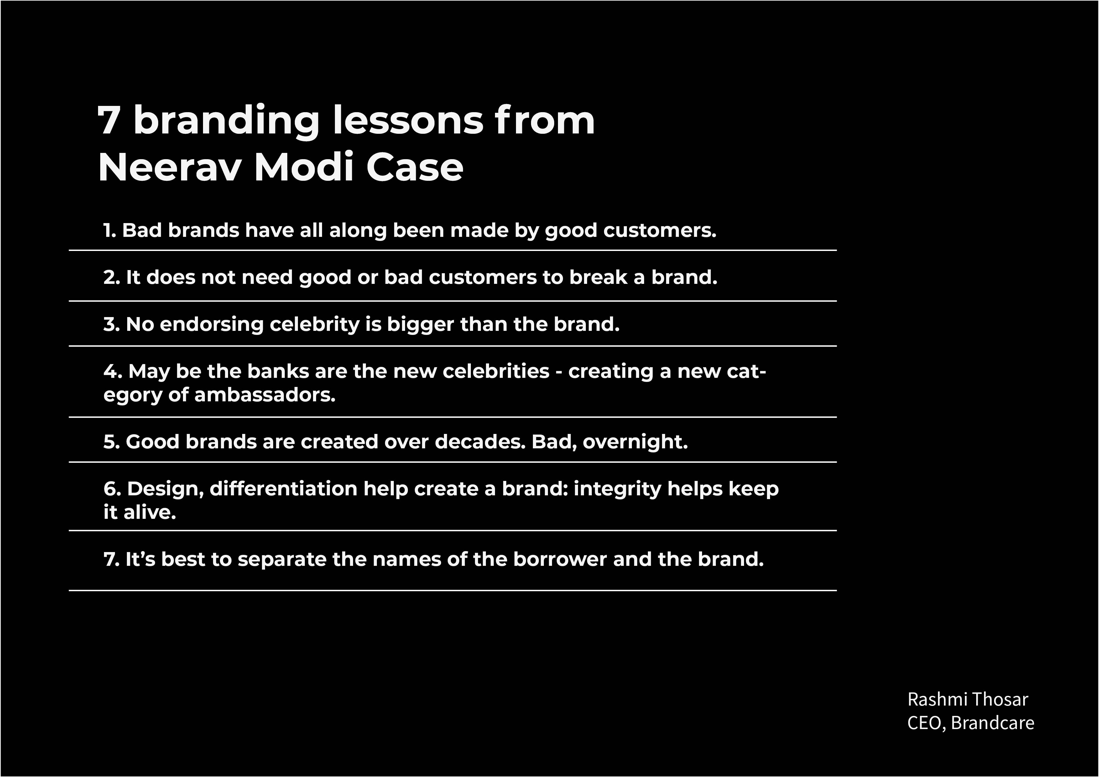 7 Branding lessons from Neerav Modi case